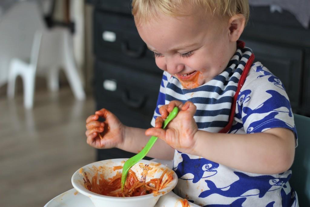 pasta eten